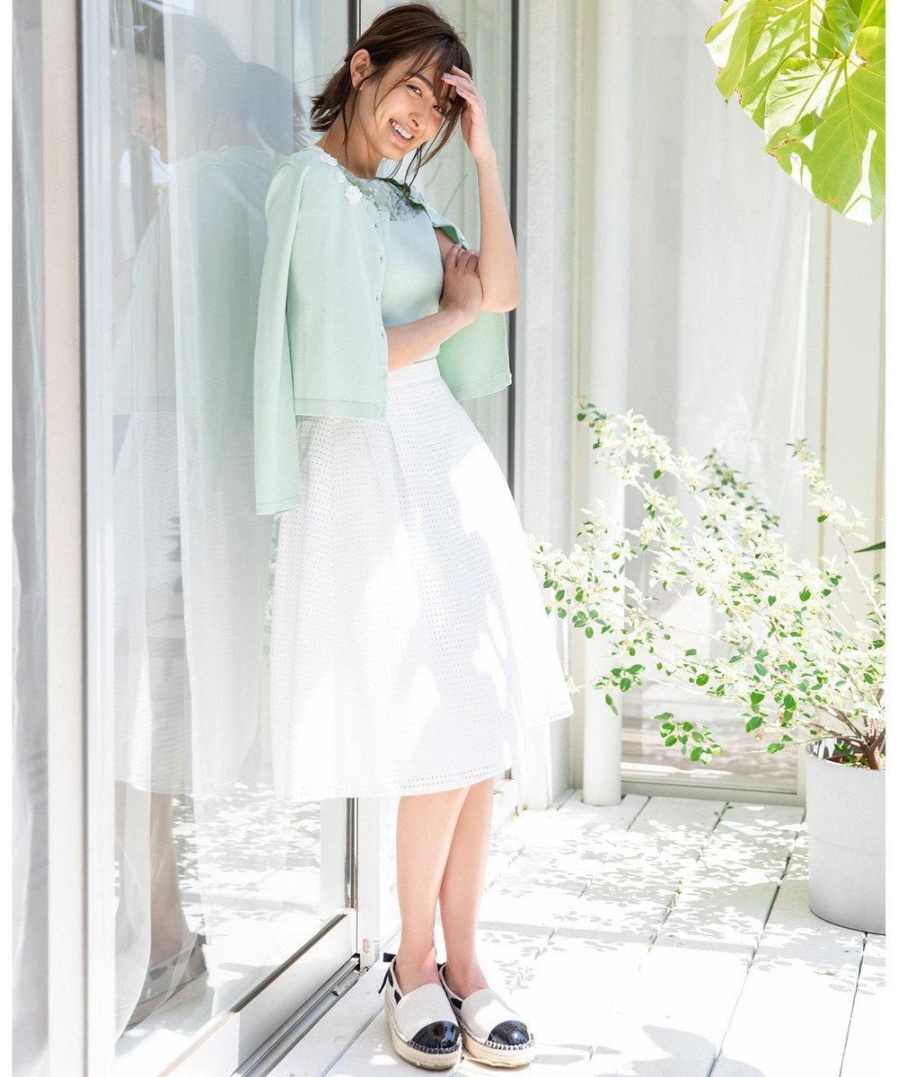 TOCCA 【洗える!】CARINA SKIRT スカート アイボリー系