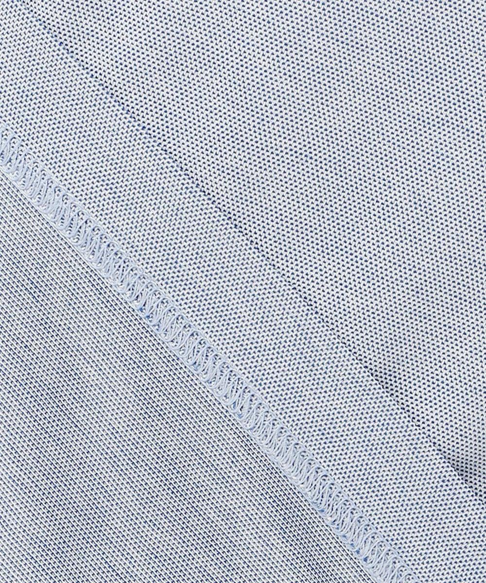 DAKS 【WEB&一部店舗限定】ハウスカラーブロック ハイゲージカノコ ポロシャツ ネイビー系