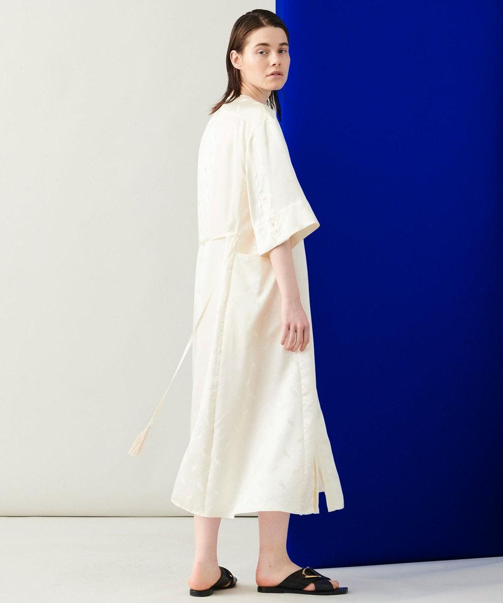 JOSEPH 【 柚香 光さん着用・洗える】ベルベルジャガード シャツドレス アイボリー系