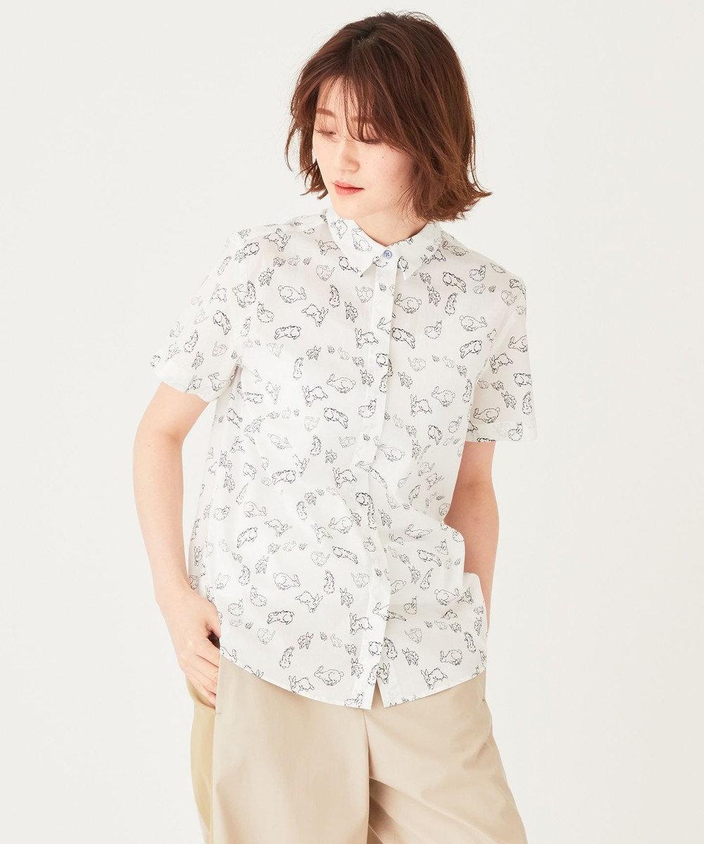 Paul Smith 【洗える】サーキット ラッキー プリントシャツ ホワイト系5