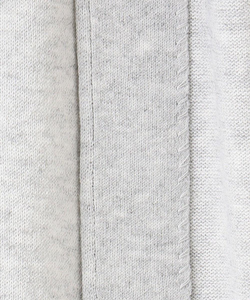 any SiS S 【洗える】ドルマンロング カーディガン ライトトップグレー