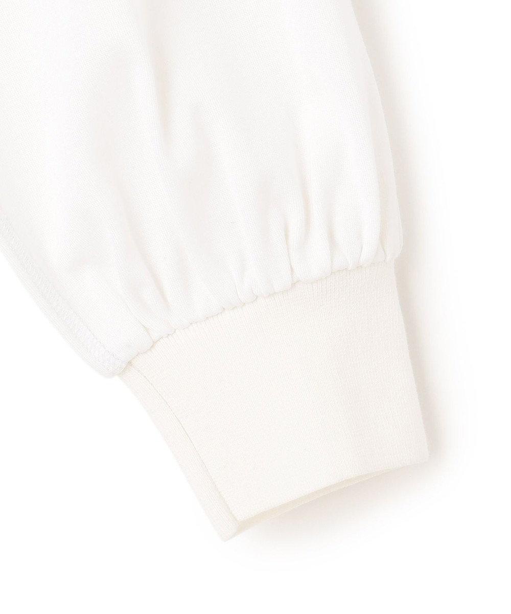 23区 L 【マガジン掲載】シルキーフライスコンビ パフスリーブ トップス(番号2F42) ホワイト系