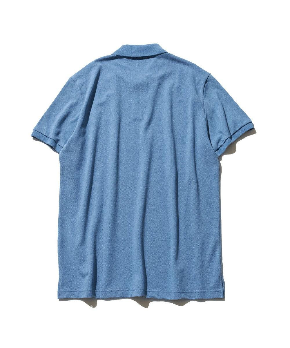 J.PRESS MEN 【大人気】アメリカンコットン 鹿の子 バックブル ポロシャツ サックスブルー系