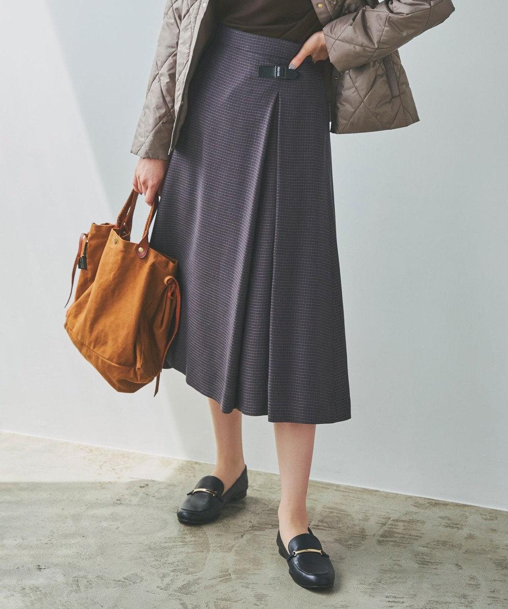 J.PRESS LADIES S ヴィステルビエラチェック スカート ネイビー系3