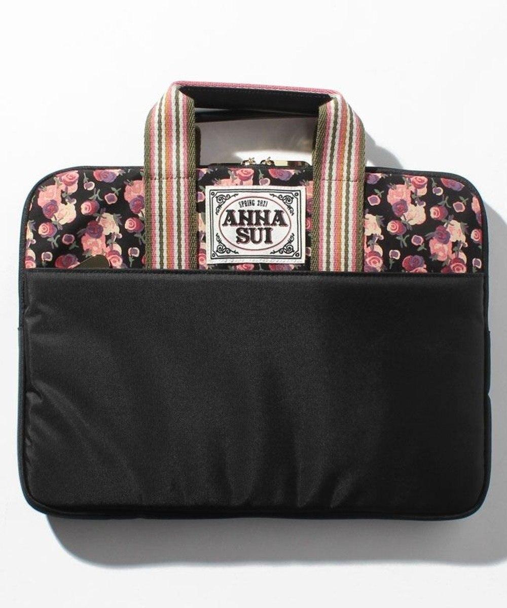 ANNA SUI セットアップ PCバッグ ブラック