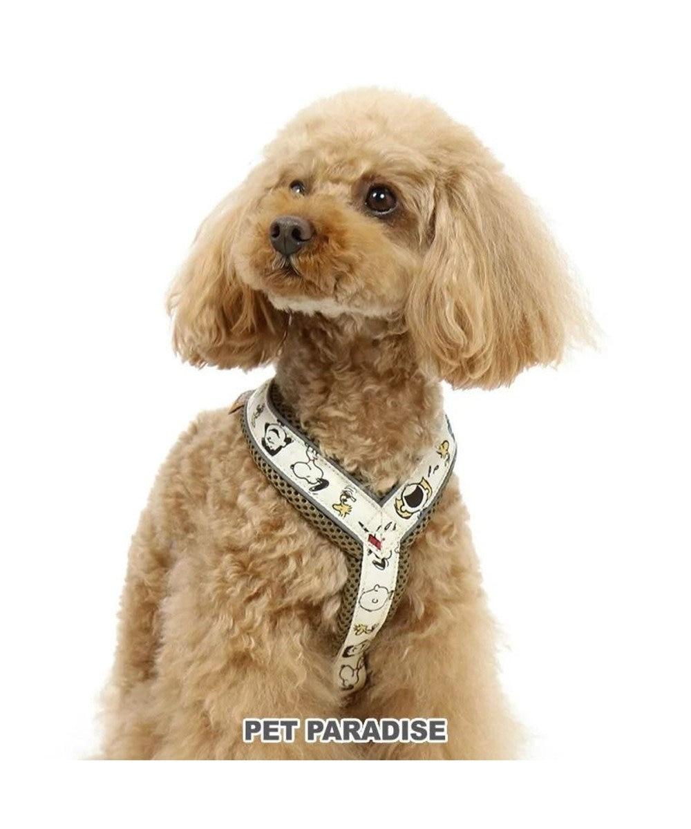 PET PARADISE  犬用品 ペットグッズ お散歩 ペットパラダイス 犬 ハーネス スヌーピー 【S】 アクティブハーネス | 小型犬 おさんぽ おでかけ お出掛け おしゃれ オシャレ かわいい キャラクター カーキ