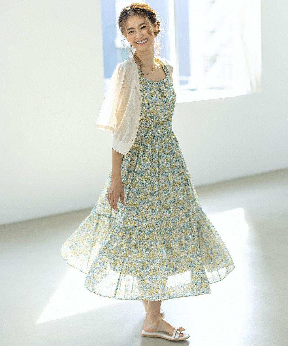 TOCCA 【TOCCA LAVENDER】LIBERTY Wysteria ドレス イエロー系5