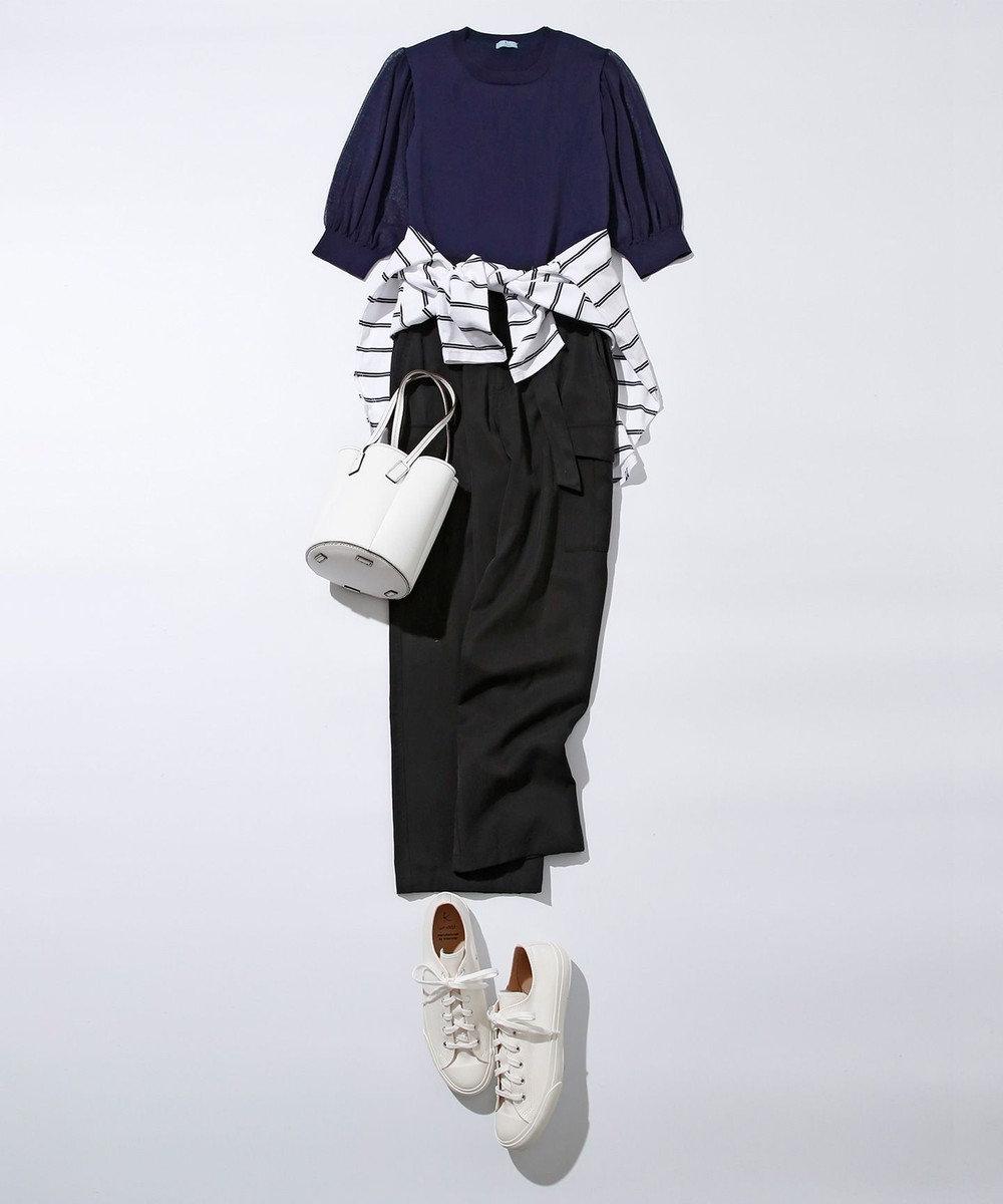 組曲 S 【VERYWEB掲載】MOONSTAR ベーシック スニーカー(21.5cm) ホワイト系