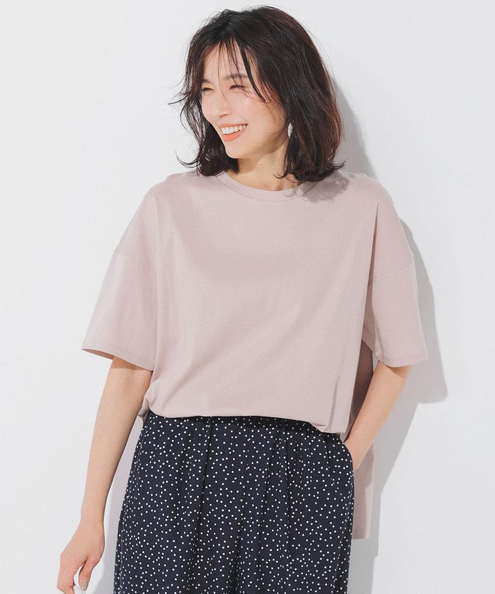 23区 【ONWARD MAG】半袖  IT Tシャツ ヌードピンク系