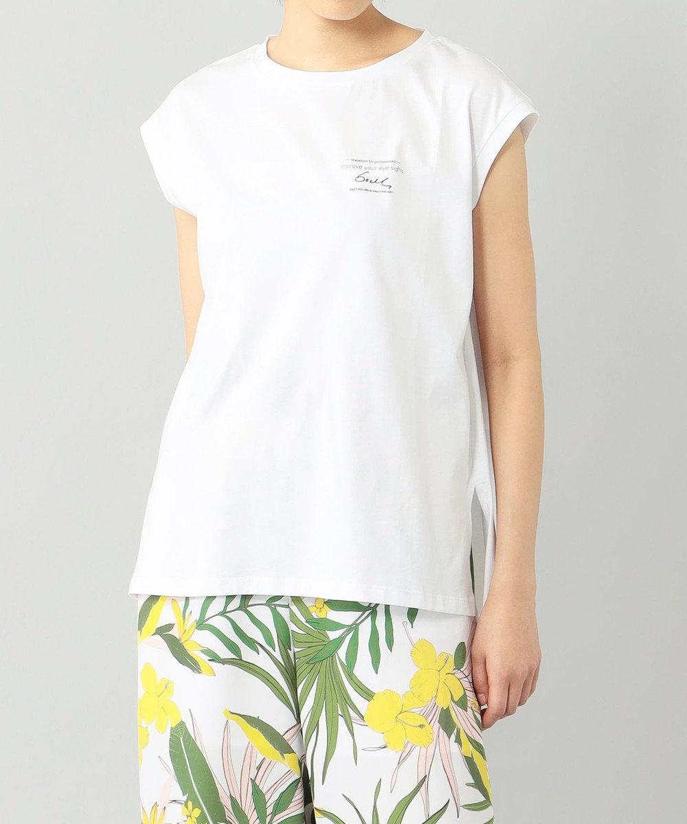 GRACE CONTINENTAL バックフォトTシャツ ホワイト