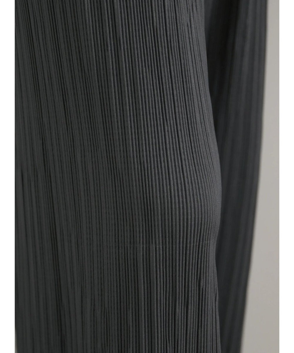 AMERICAN HOLIC プリーツワイドパンツ Charcoal Gray