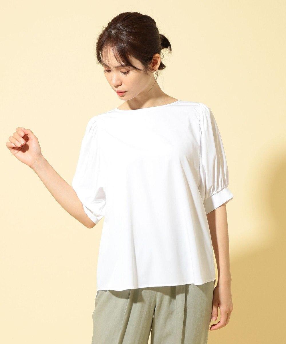any FAM 【UVケア・接触冷感】マルチファンクションボリュームスリーブ アイボリー系