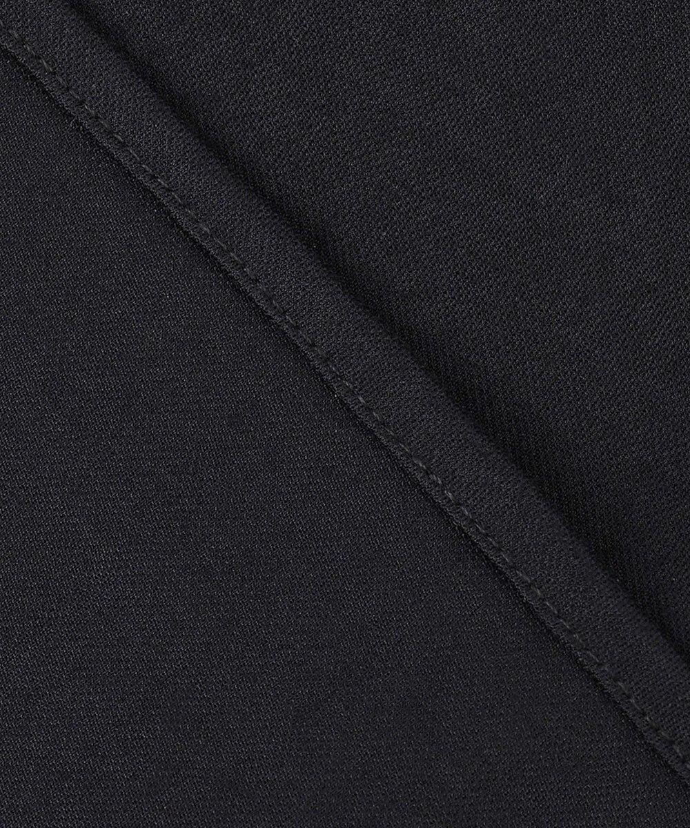 自由区 L 【UNFILO/Sサイズ有】袖コンシャス ジャージー カットソー ブラック系