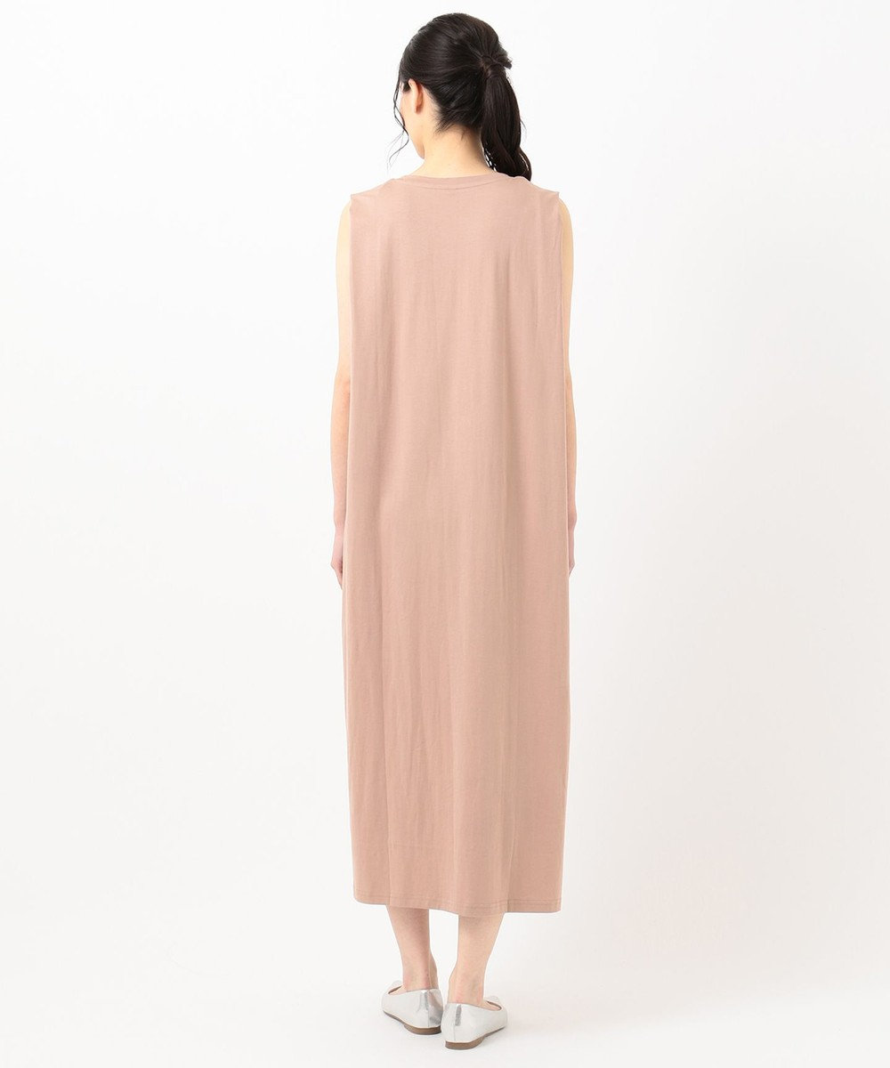 any FAM スーピマコットンリラックス ワンピース ピンク系