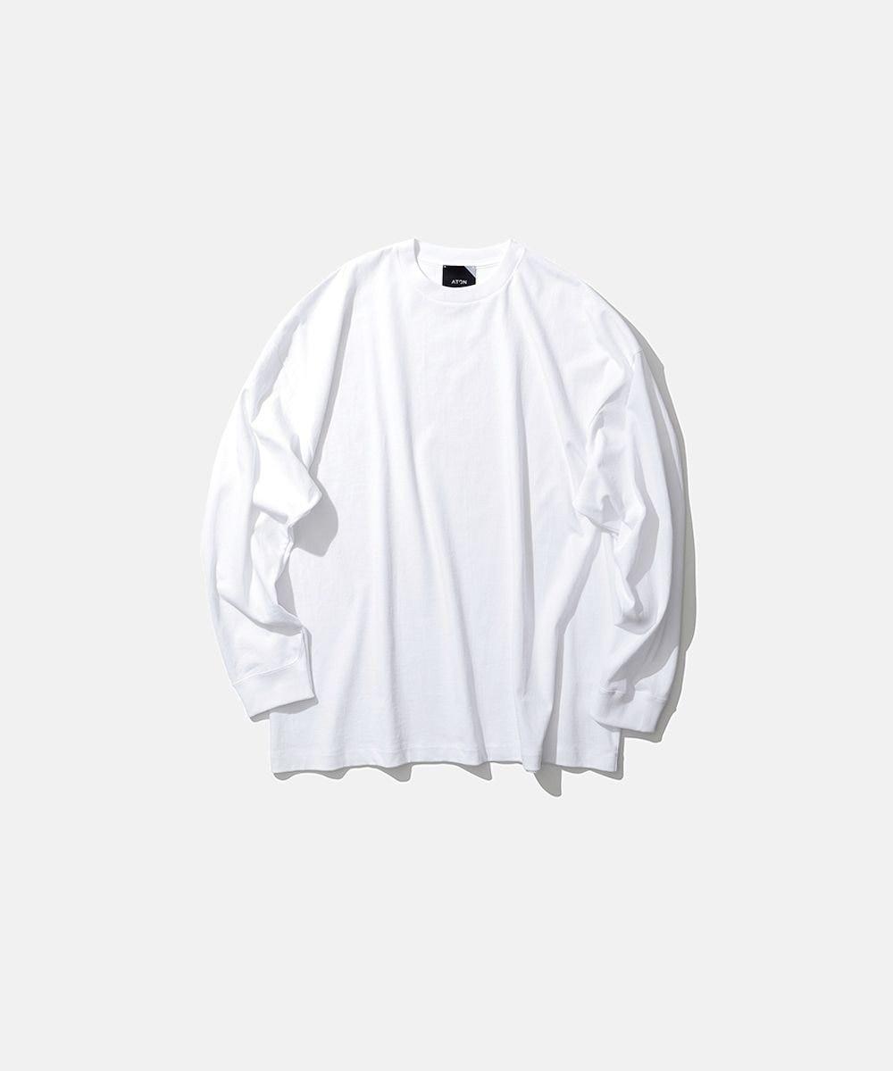 ATON オーバーサイズロングスリーブTシャツ UNISEX