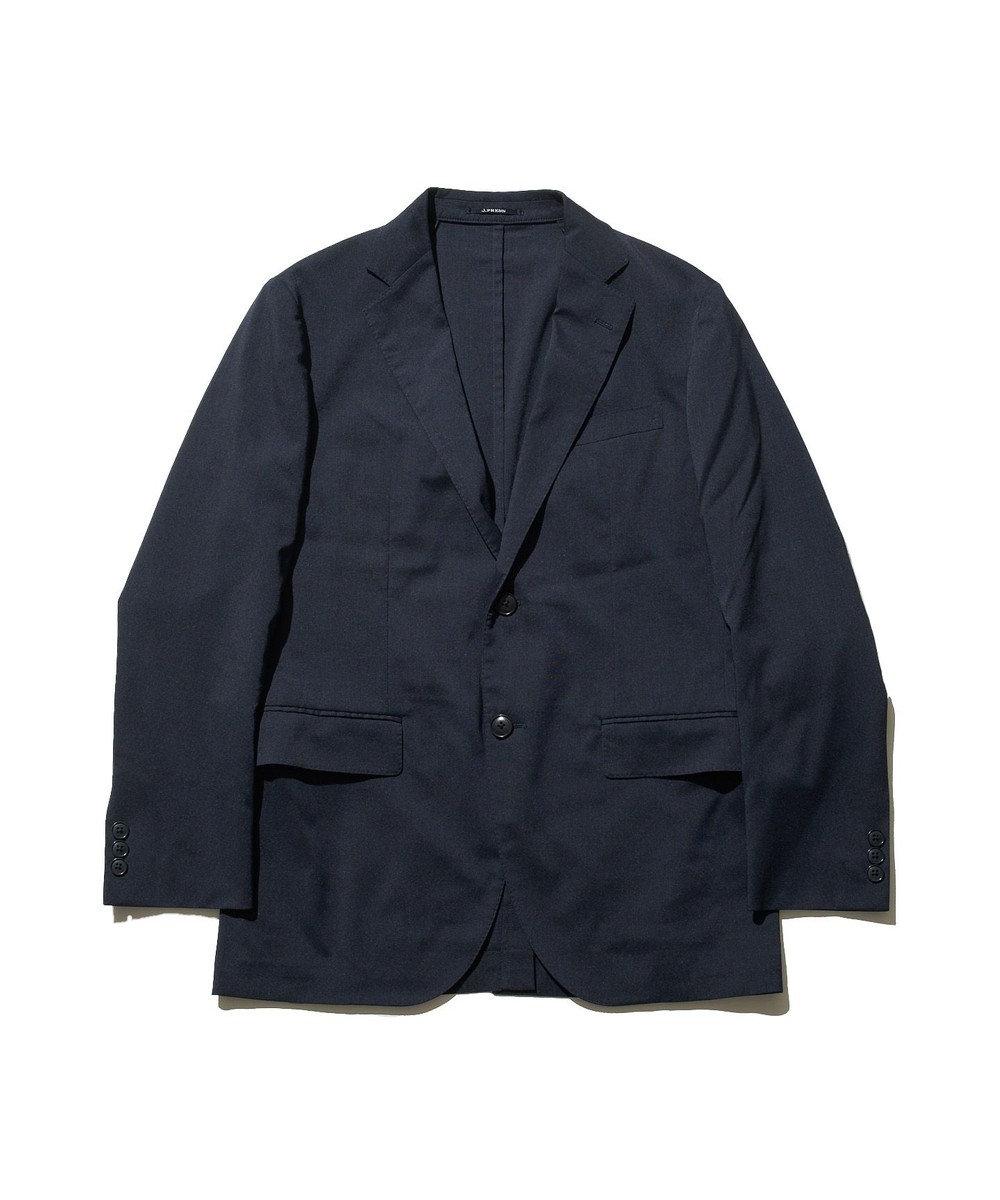 J.PRESS MEN クールエアツイスト リネンミックス ジャケット ネイビー系