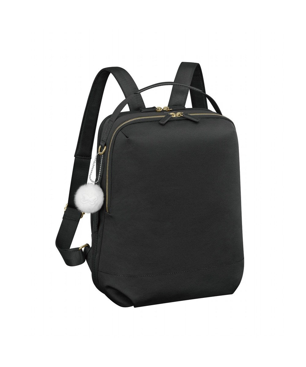 ACE BAGS & LUGGAGE 《カナナプロジェクト》リュックサック A4/13inch 2気室 SP-2 31733 ブラック