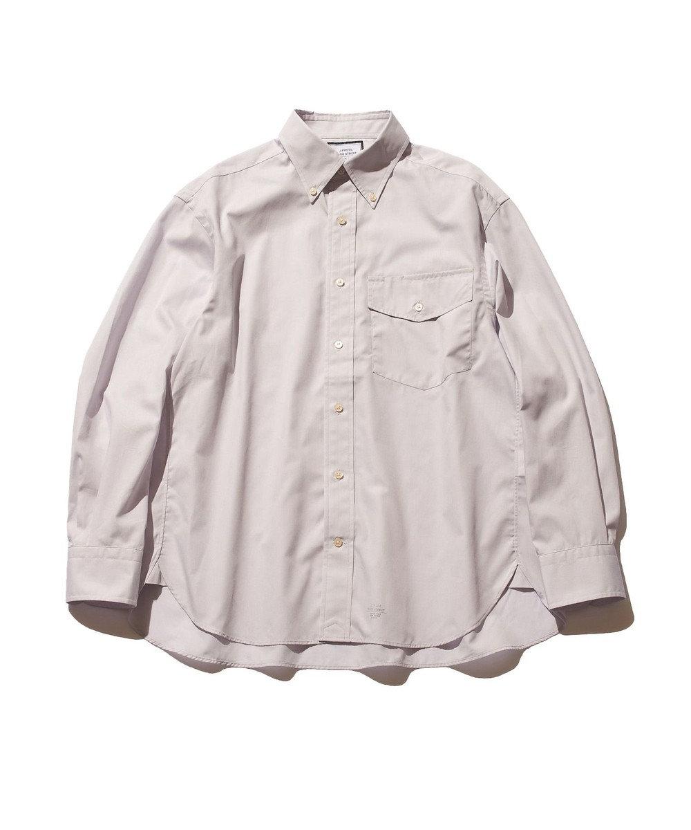 J.PRESS YORK STREET 【UNISEX】40ブロード ボタンダウンシャツ ライラック