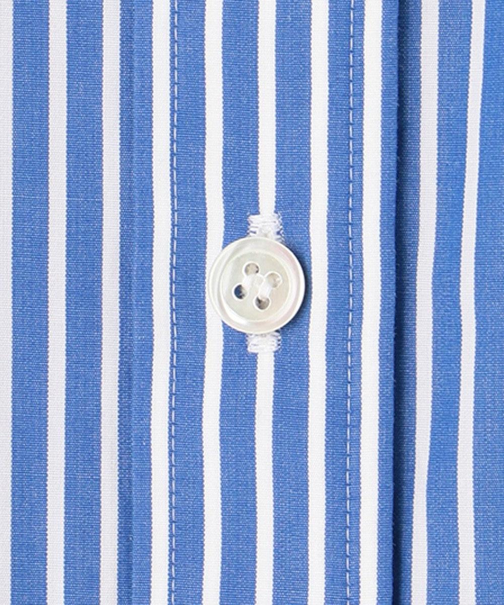 23区 【マガジン掲載 】CANCLINI ベーシック シャツ(番号G28) ブルー系1