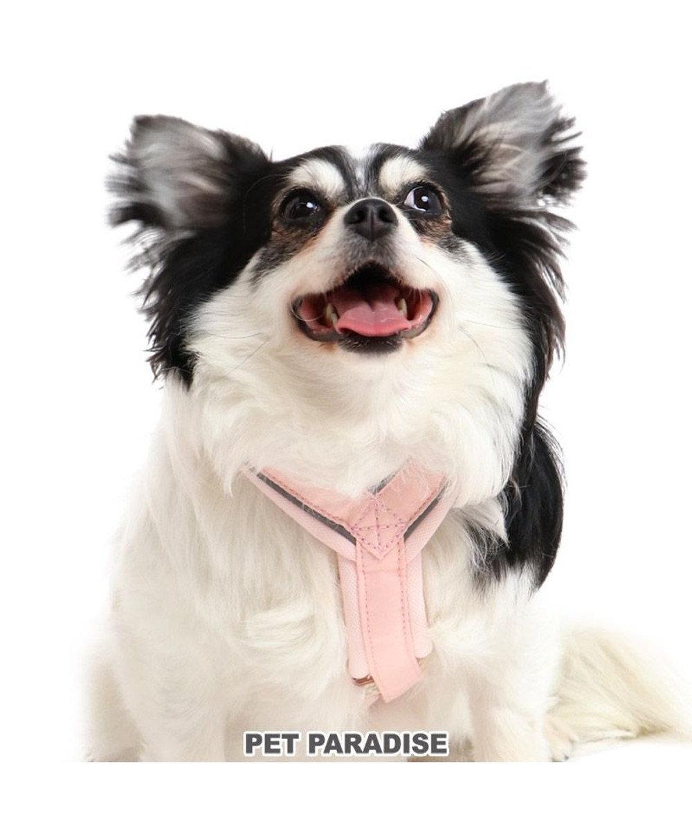 PET PARADISE 犬 ハーネス 【3S】 アクティブハーネス りぼん 小型犬 リボン おさんぽ おでかけ お出掛け おしゃれ オシャレ かわいい ピンク(淡)