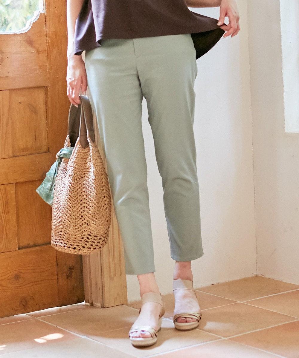 any SiS L 【洗える】エバービューティ パンツ スモーキーミント