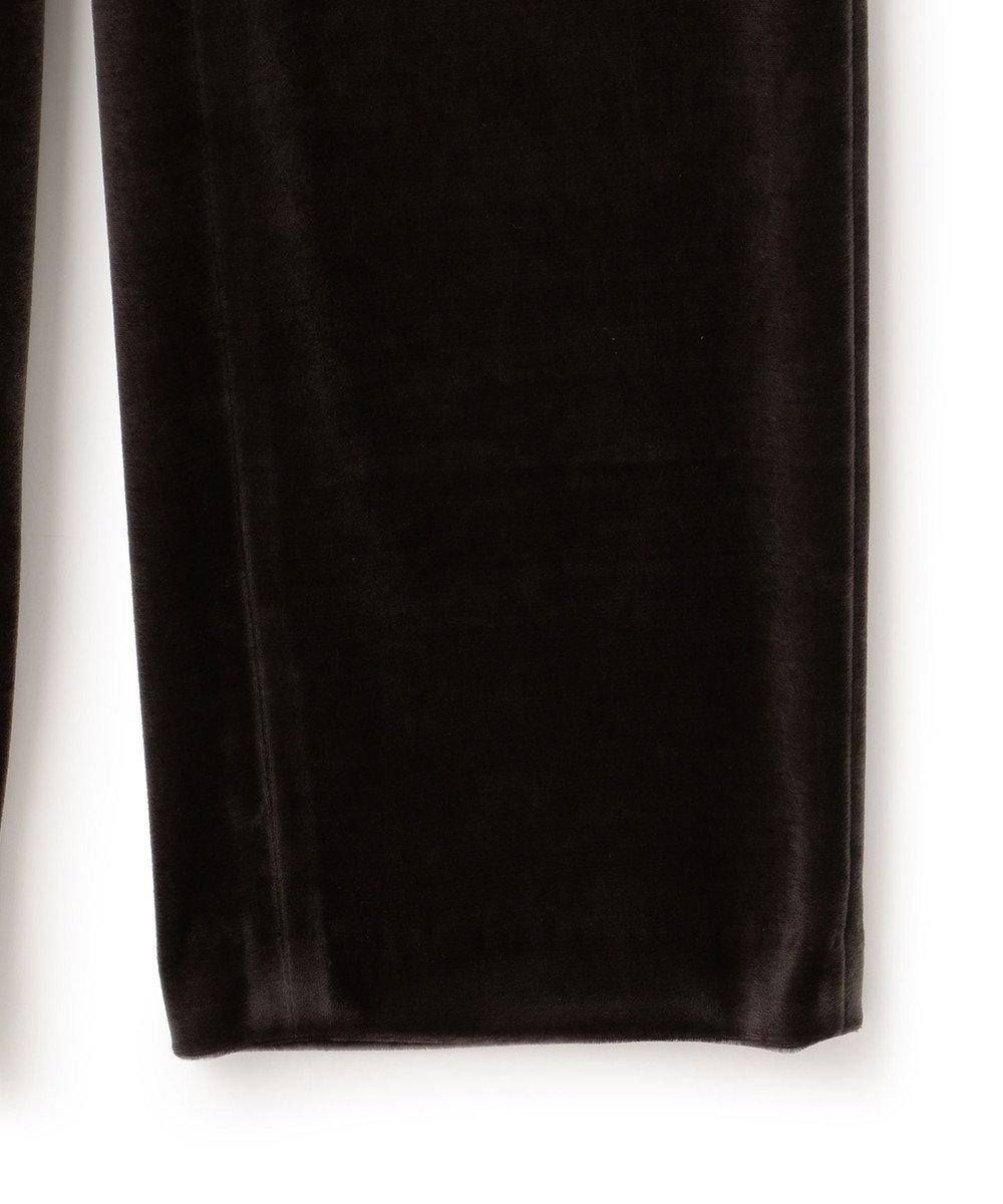 23区 【中村アンさんコラボ】リラックスストレートベロア パンツ(番号2F66) グレー系