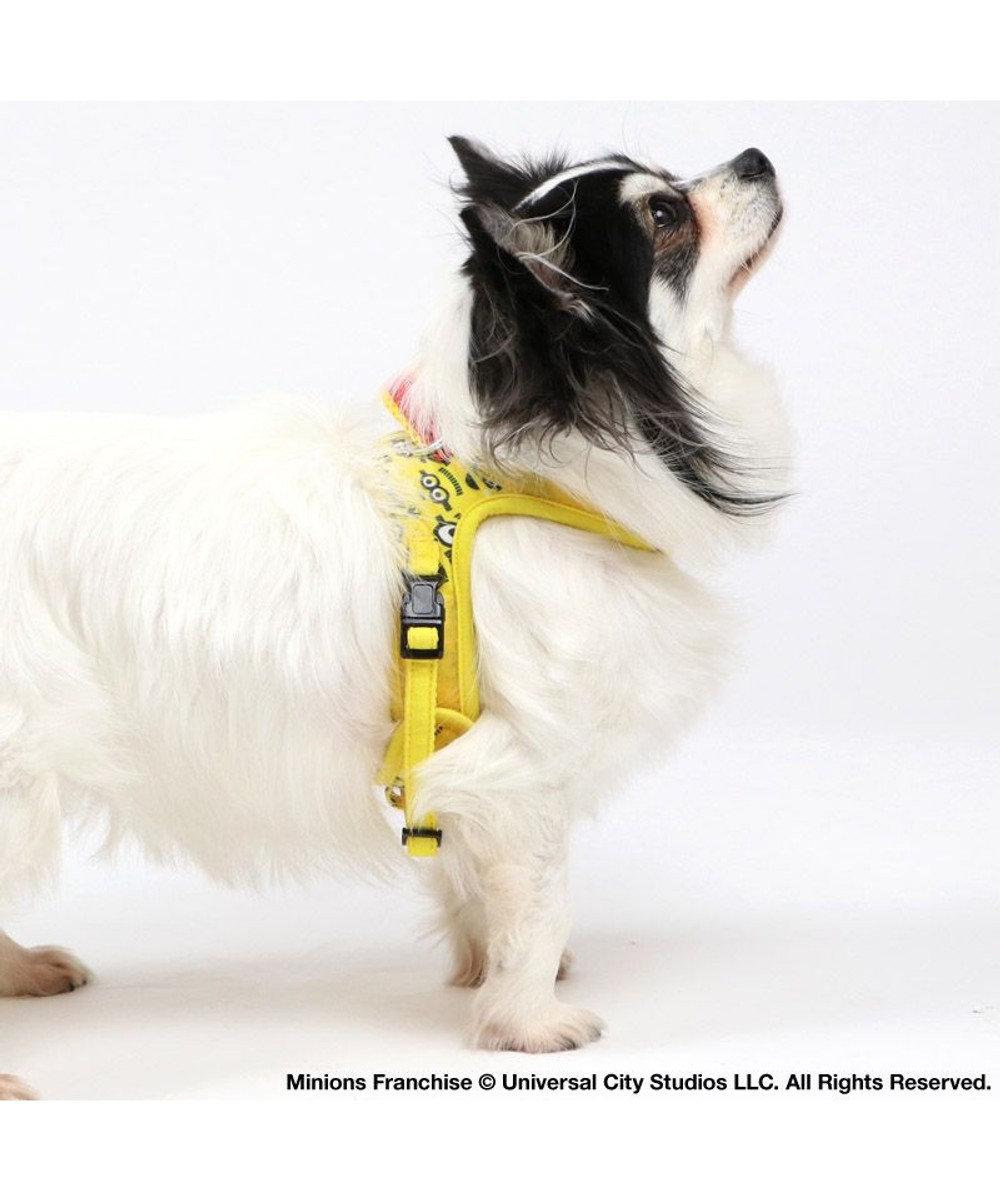 PET PARADISE 犬 ハーネス ペットパラダイス ミニオン やさしい ハーネス 3S 〔小型犬〕 黄