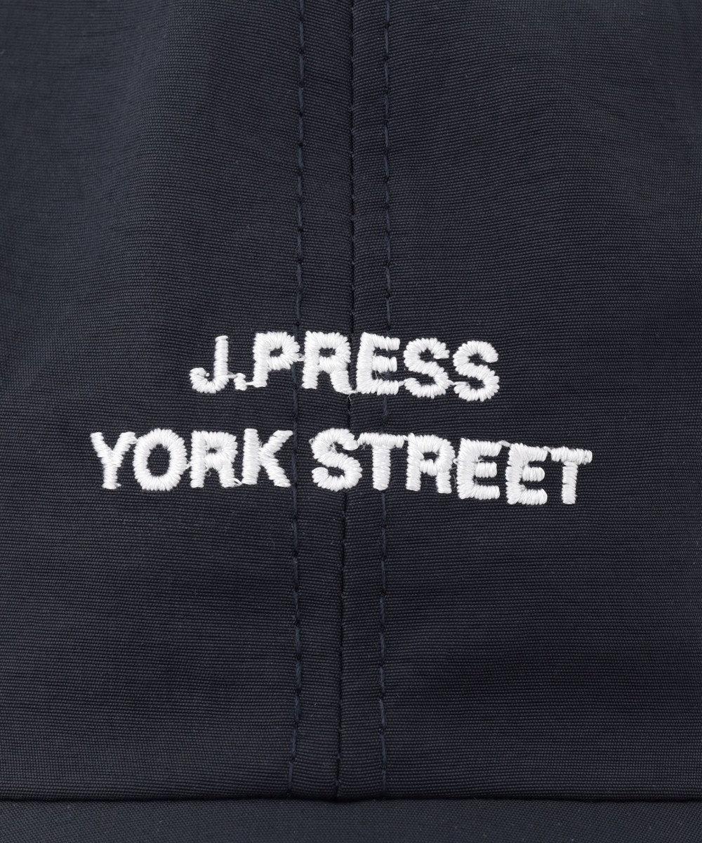 J.PRESS YORK STREET 【UNISEX】ロゴ刺繍キャップ ネイビー系