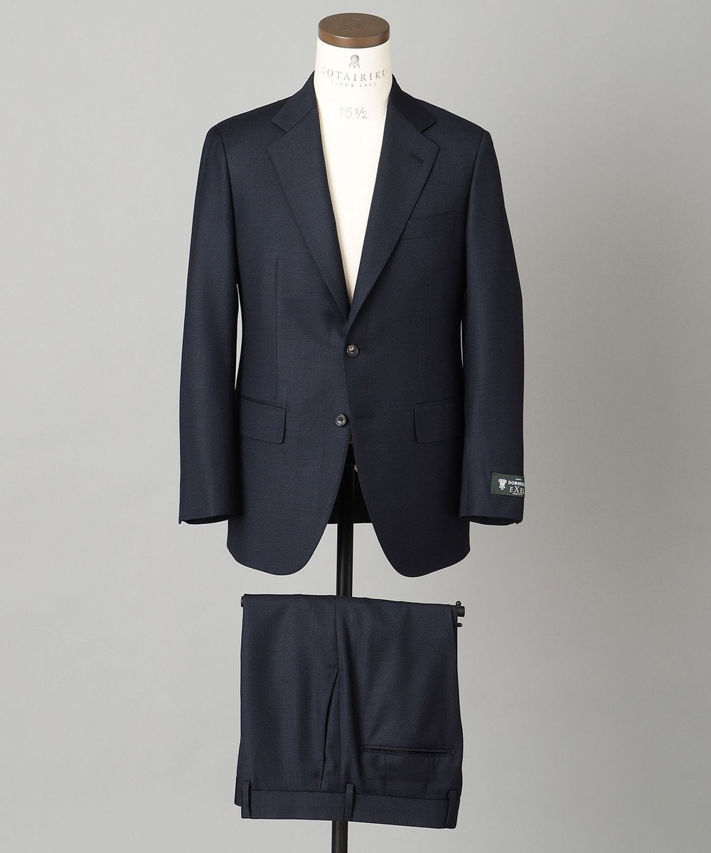 GOTAIRIKU 【DORMEUIL】EXELBLUE スーツ(※店頭にてパターンメイド受注のみ可能) ネイビー系8