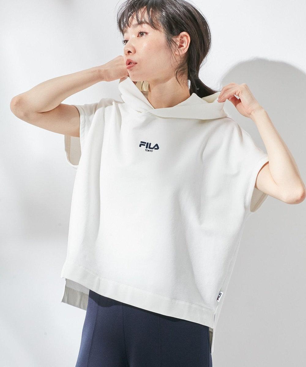 組曲  【FILA別注】ロゴ パーカ ホワイト系
