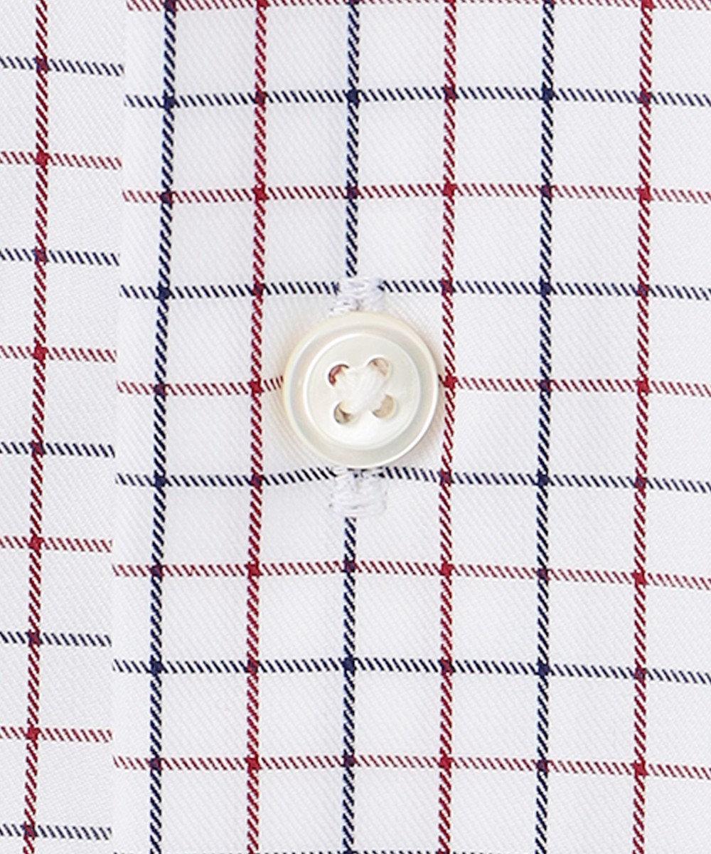 GOTAIRIKU 【THOMAS MASON】ワイドカラー_タッターソール ドレスシャツ ネイビー系8