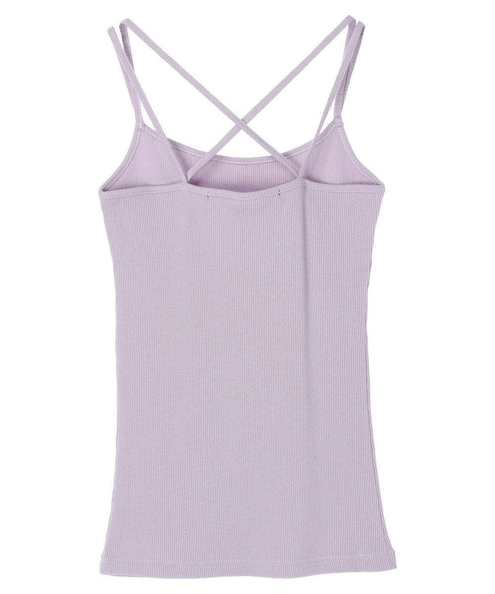 YECCA VECCA ・バッククロスキャミ Lavender