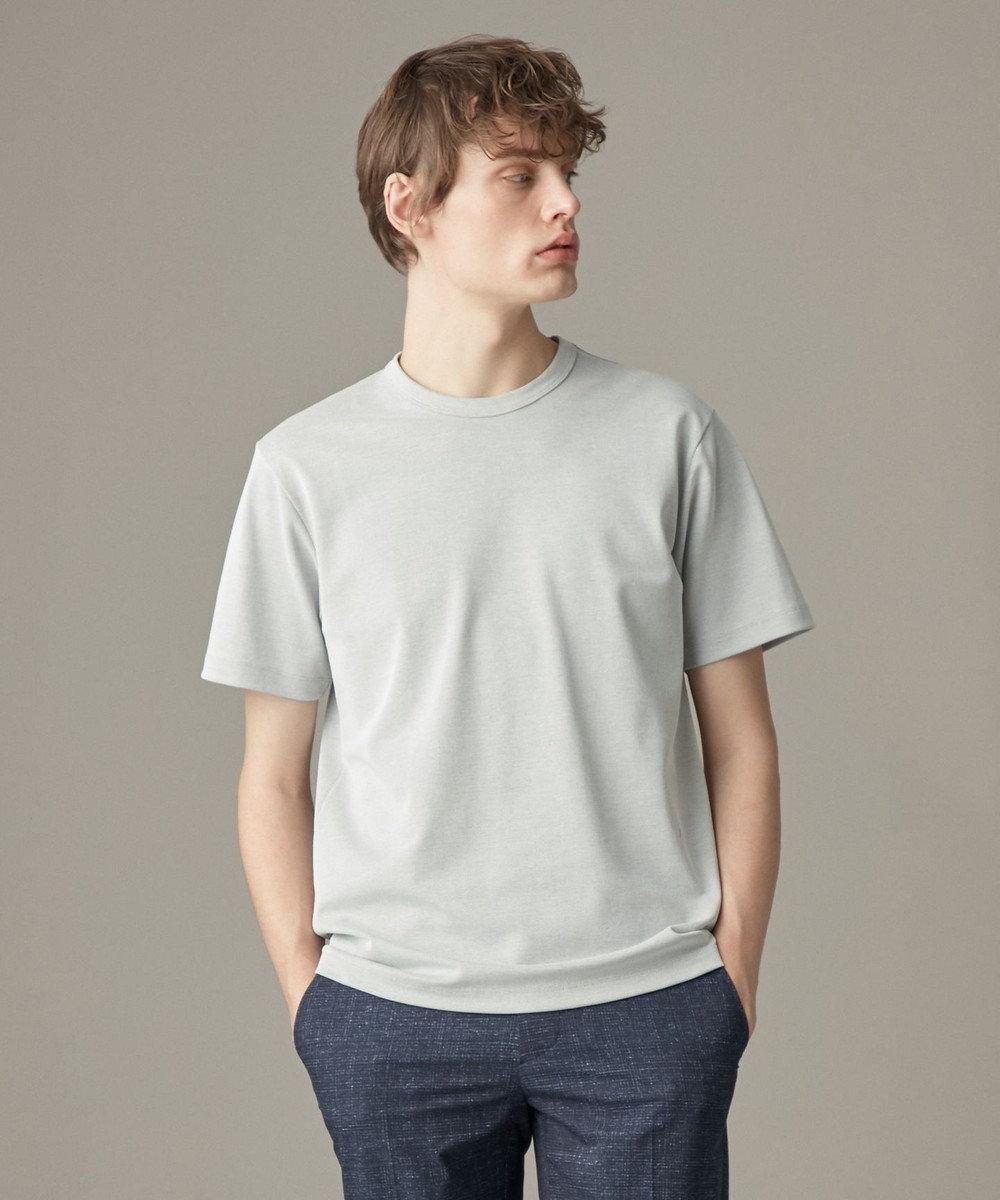 JOSEPH HOMME スビンギザカノコ Tシャツ ライトグレー系