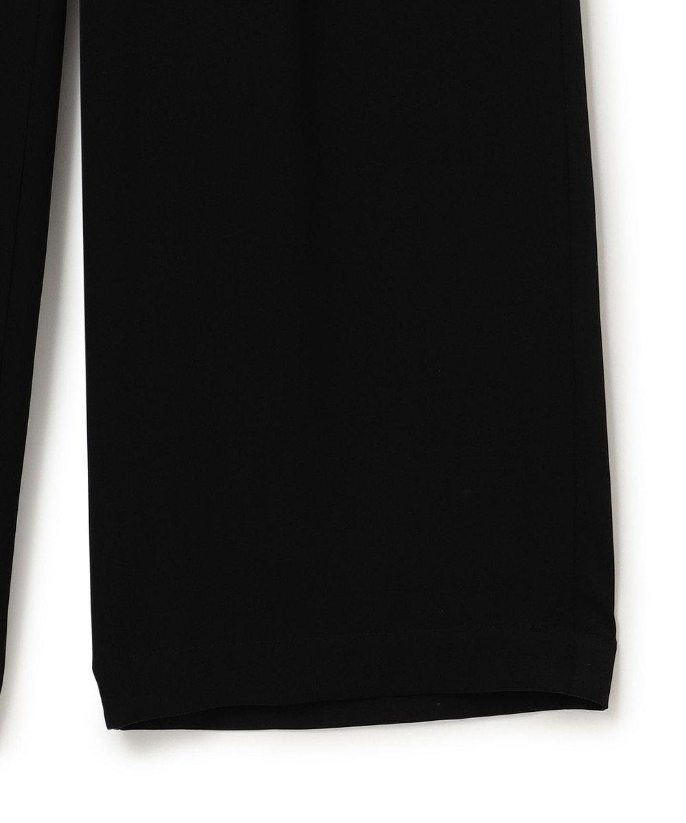 23区 S 【中村アンさん着用】ウォッシュドシルク ウエストゴム パンツ(番号2K29) ブラック系