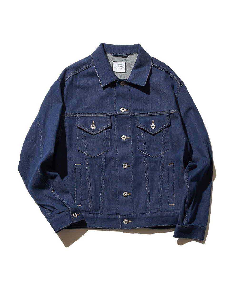 J.PRESS YORK STREET 【UNISEX】9OZ デニムジャケット ブルー系