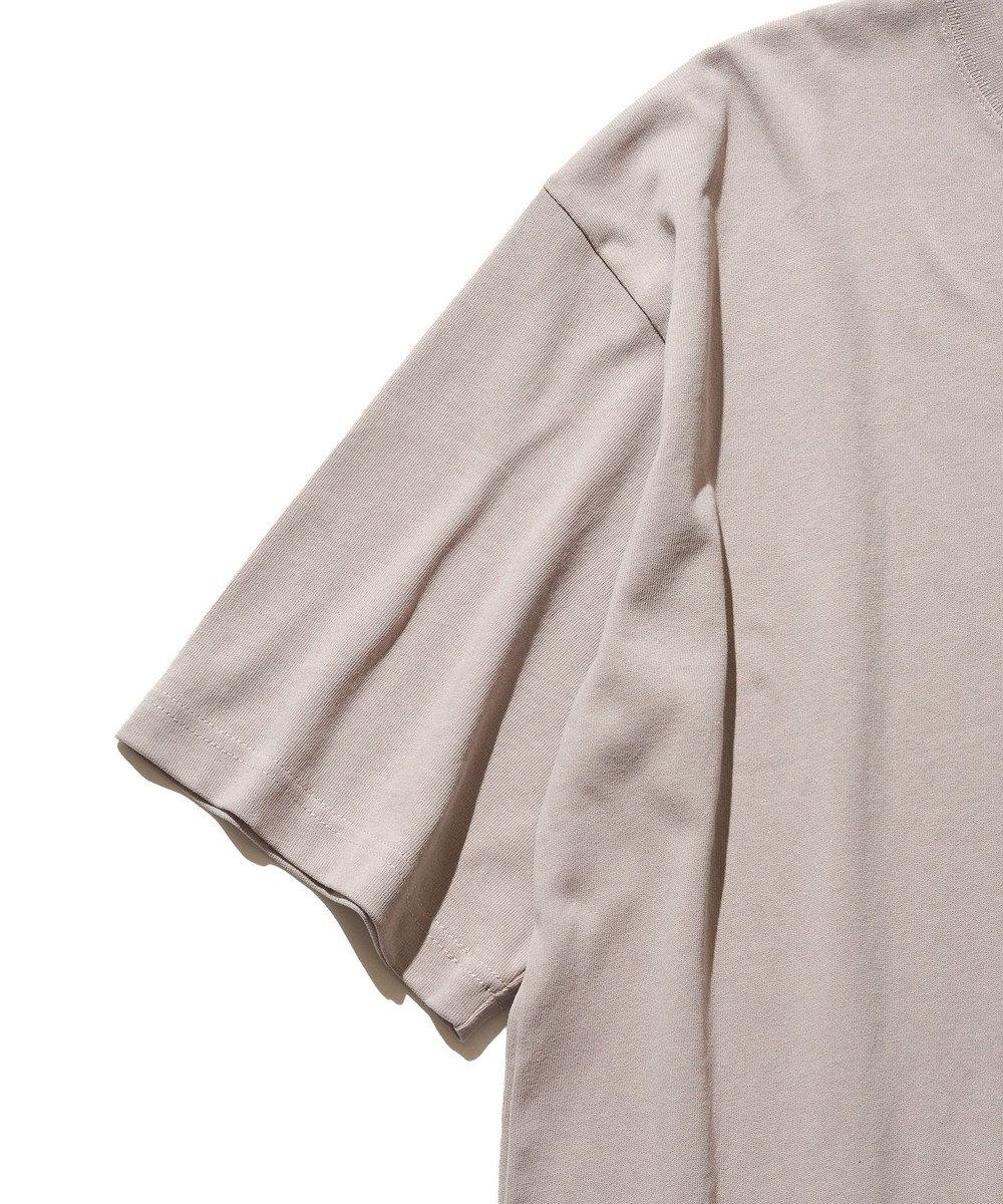 J.PRESS YORK STREET 【UNISEX】ロゴプリント Tシャツ ベージュ系