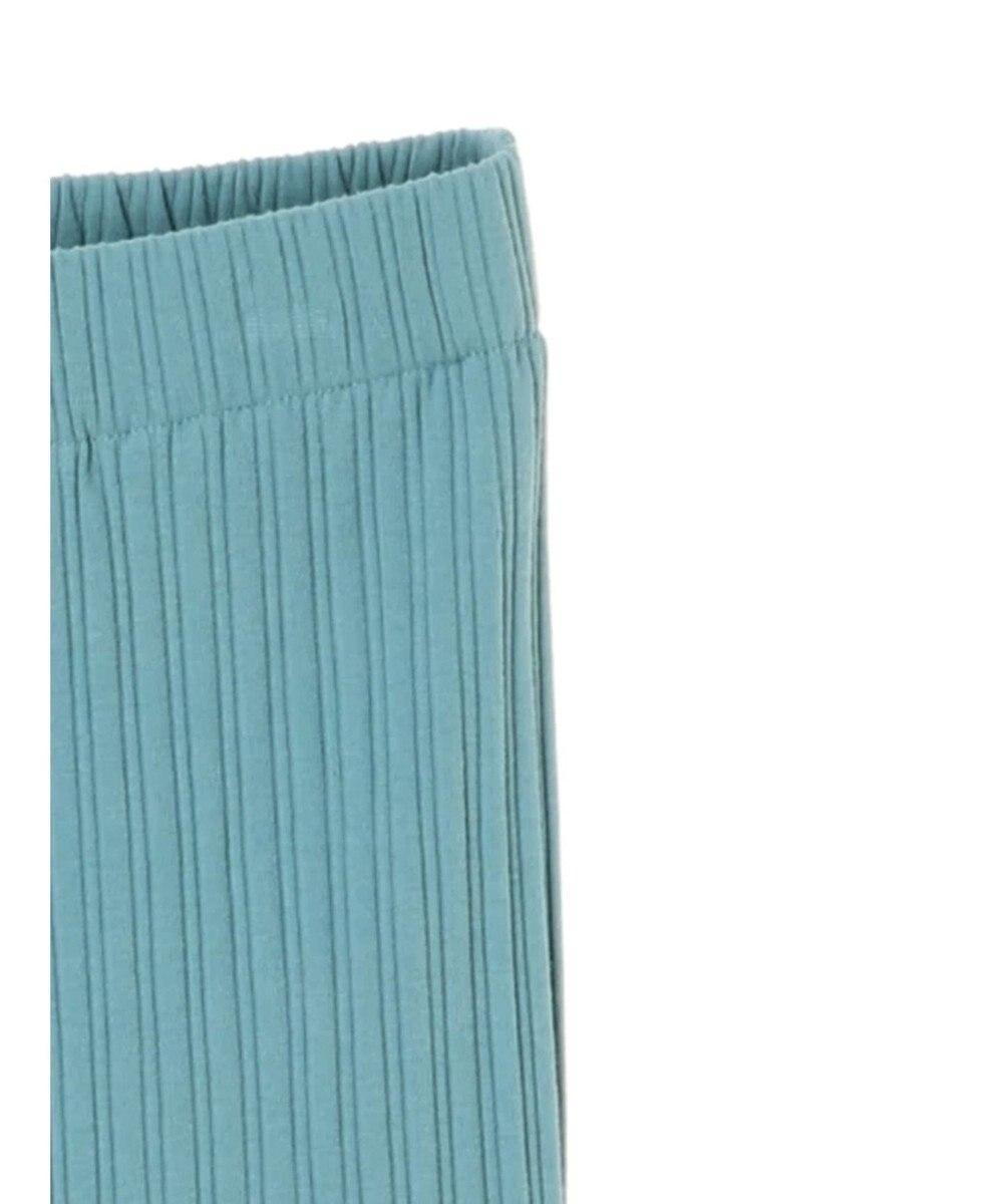 koe リブメローパンツ Blue Green