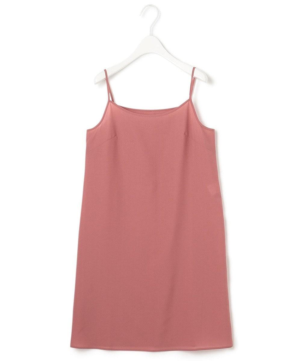 23区 【一部店舗限定】LIBECO シャツ ワンピース オールドローズ系