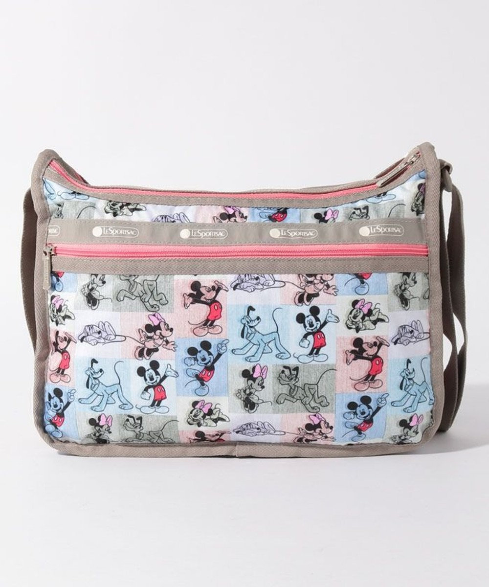 LeSportsac DELUXE EVERYDAY BAG/ミッキー パッチワーク ミッキー パッチワーク