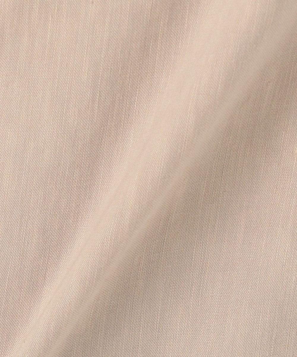 自由区 【Sサイズ有】MANTECO リネン ストレッチ パンツ ライトイエロー系