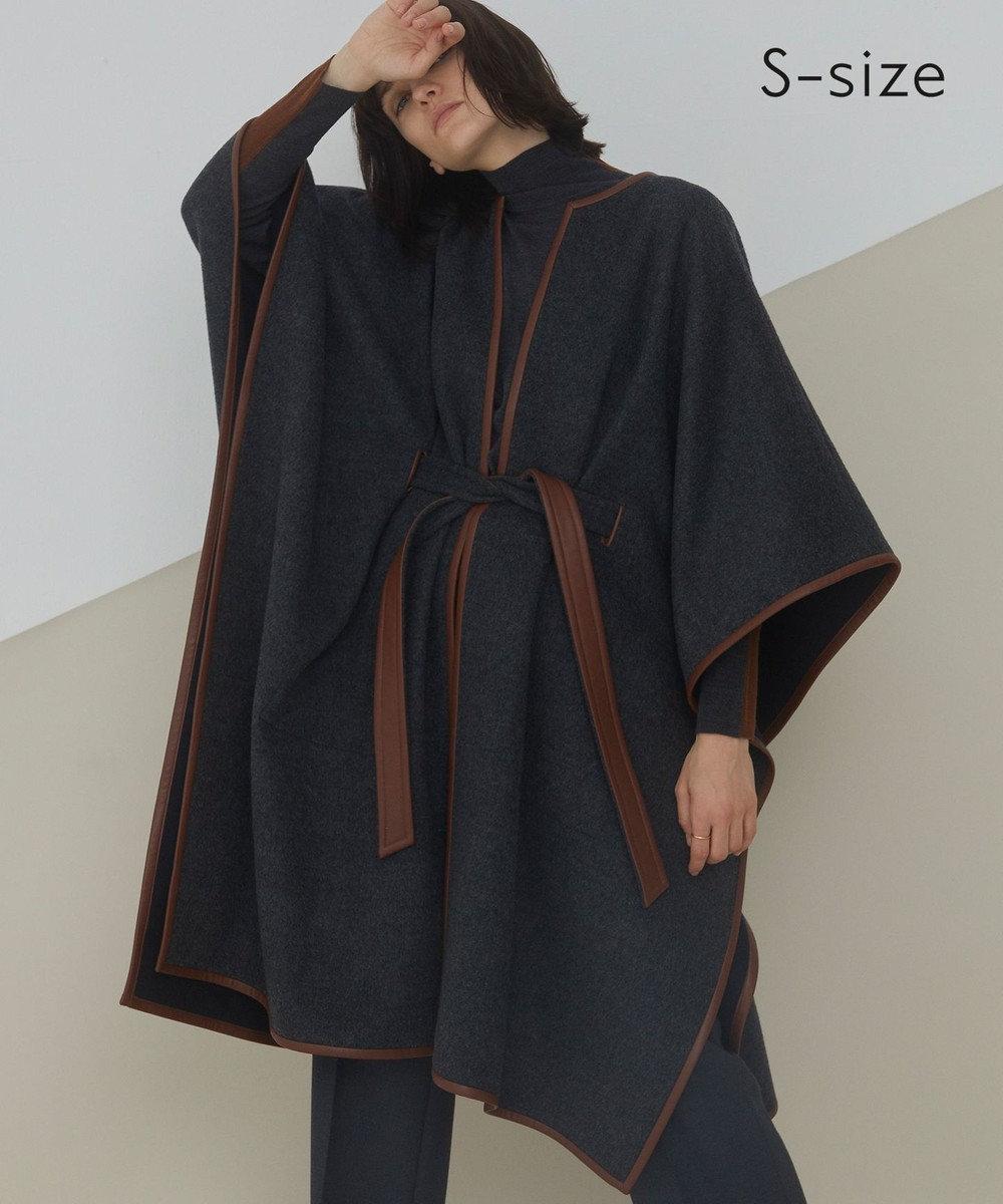 BEIGE, 【S-size】RISOUL / コート Charcoal × Chestnut