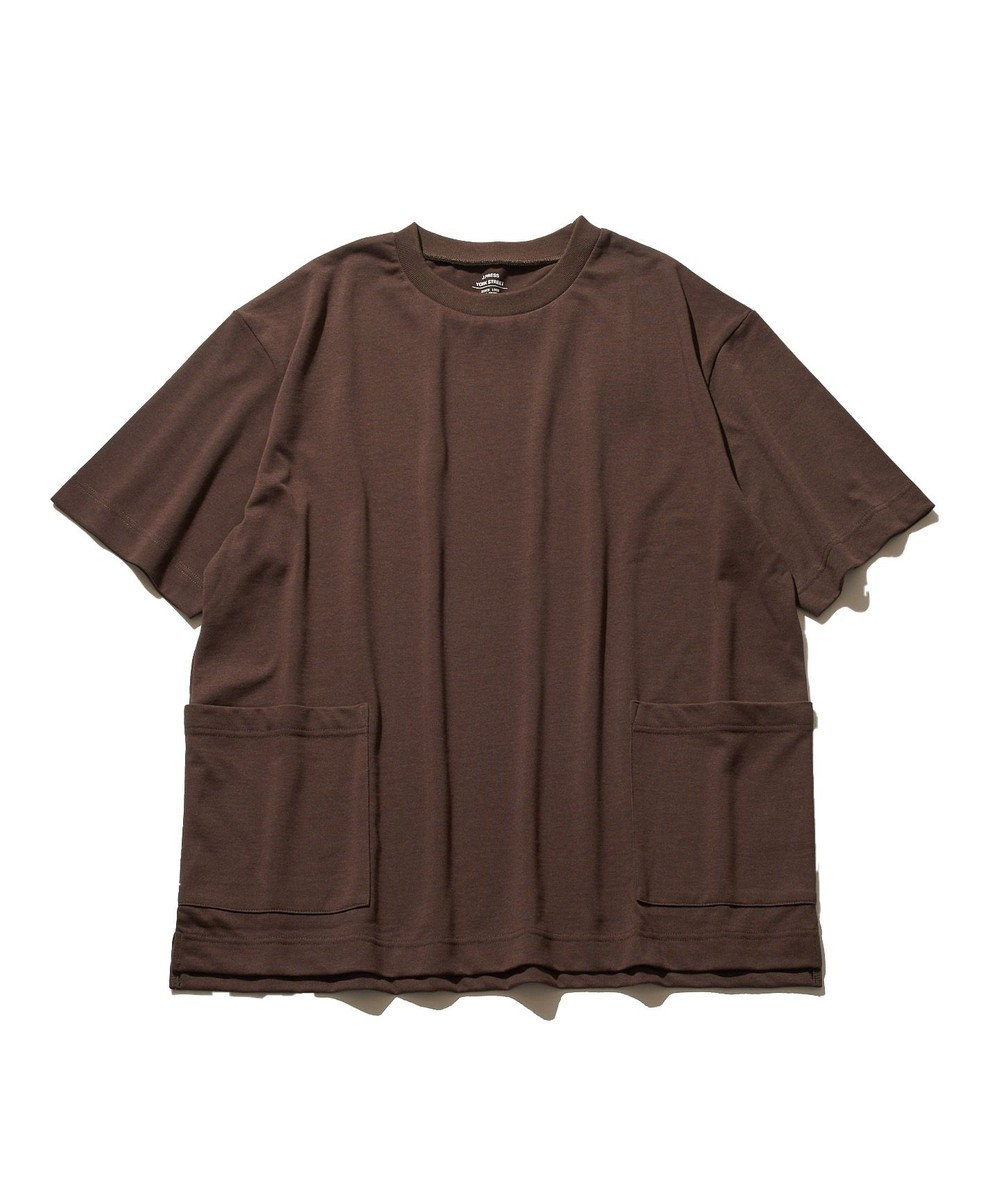 J.PRESS YORK STREET 【UNISEX】MVS天竺 Tシャツ ブラウン系