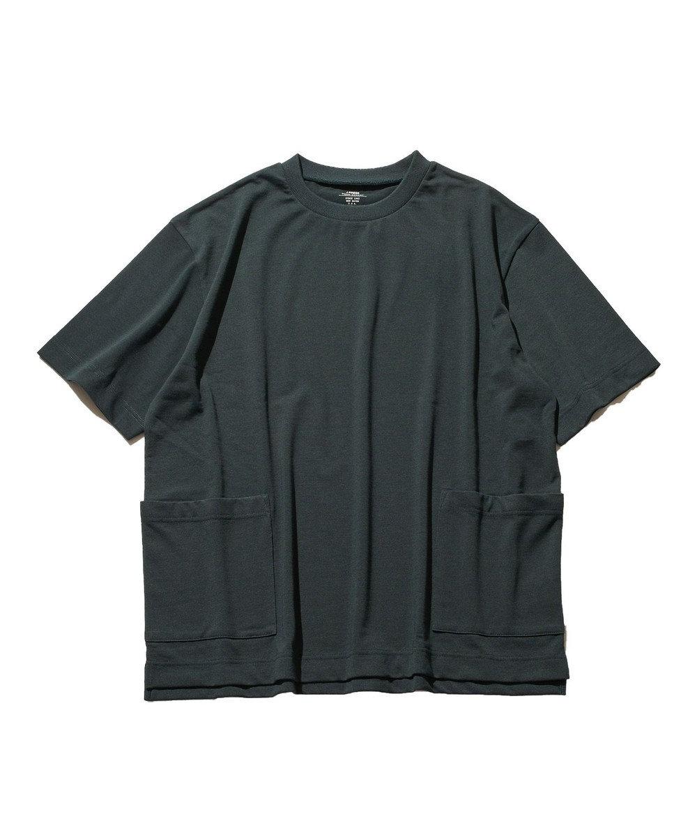 J.PRESS YORK STREET 【UNISEX】MVS天竺 Tシャツ ダークグリーン系