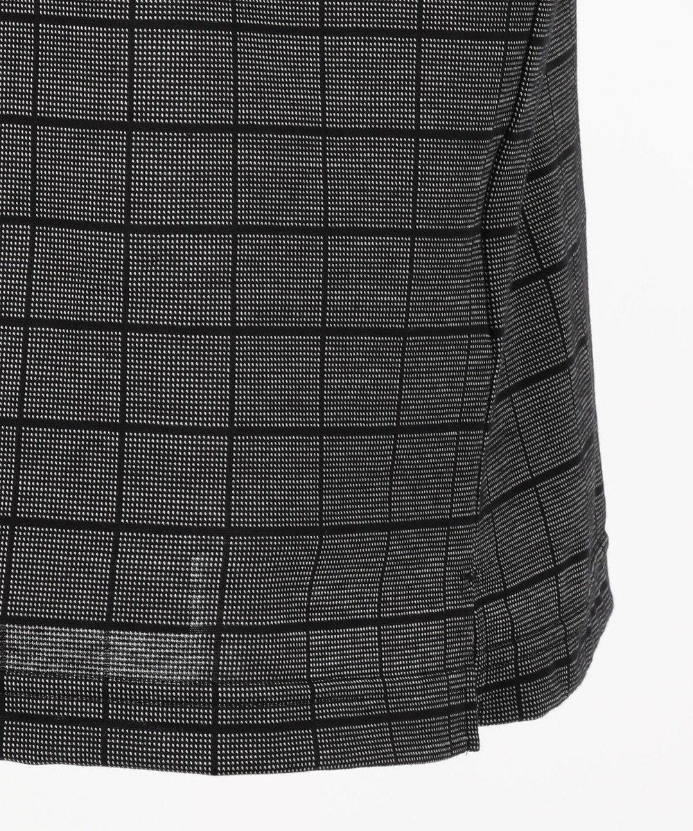 DAKS GOLF 【MEN】モードグラフチェック ポロシャツ ブラック系3