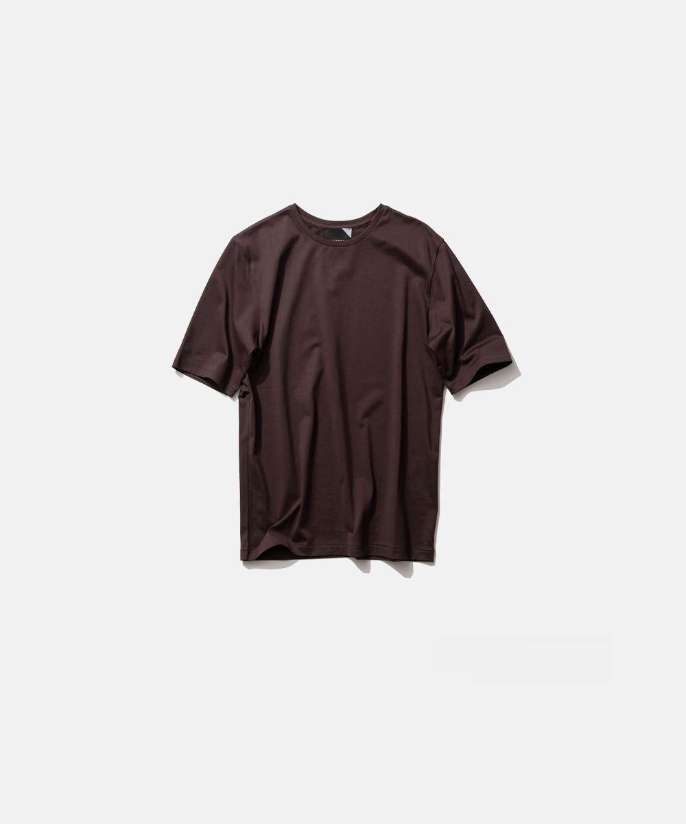 ATON SUVIN 60/2 | パーフェクトショートTシャツ BURGUNDY