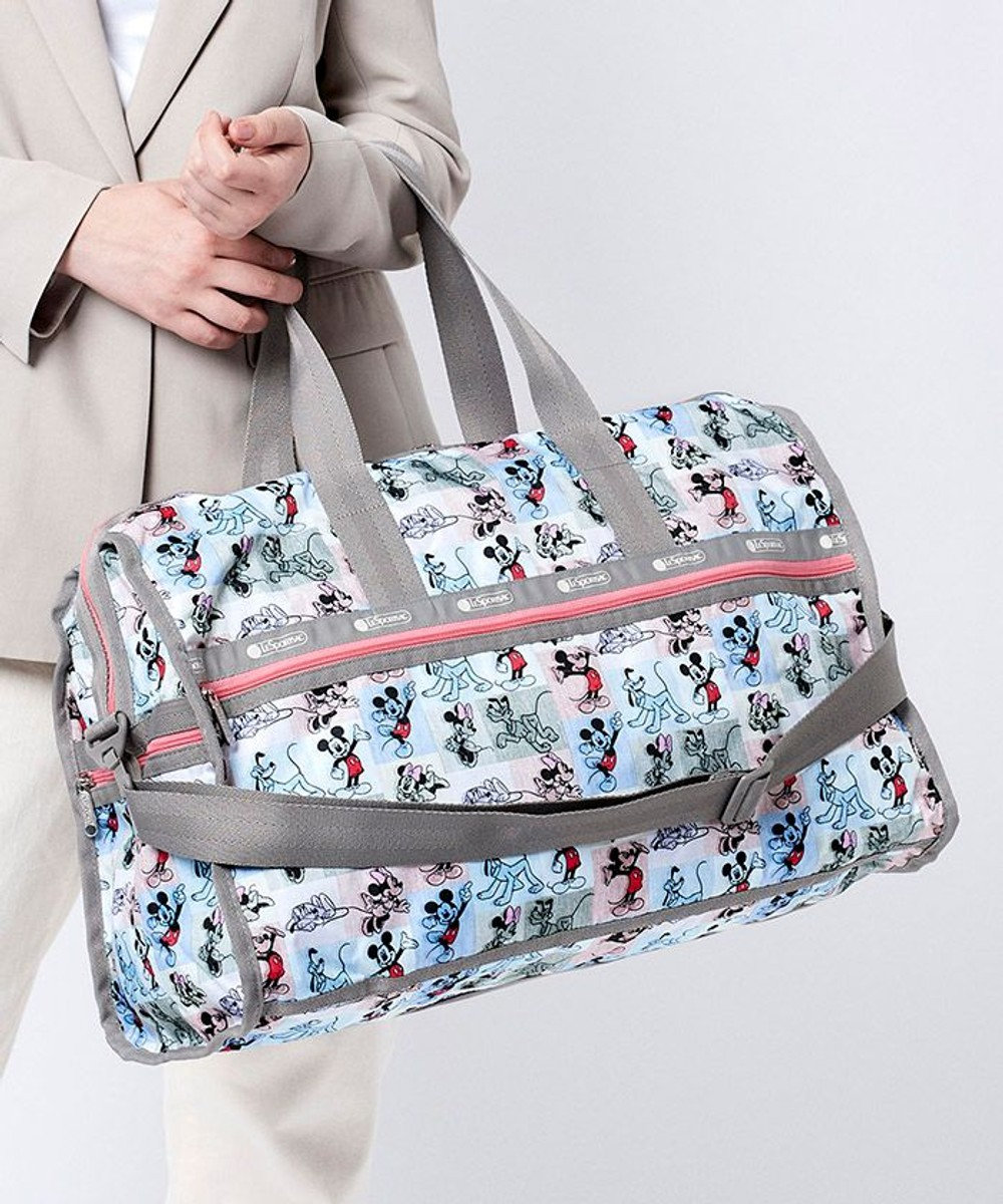 LeSportsac DELUXE LG WEEKENDER/ミッキー パッチワーク ミッキー パッチワーク