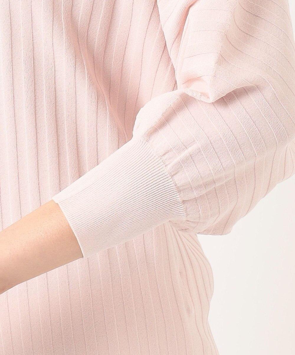 自由区  【Sサイズ有】ホールガーメント ドルマンスリーブ プルオーバー ニット ピンク系
