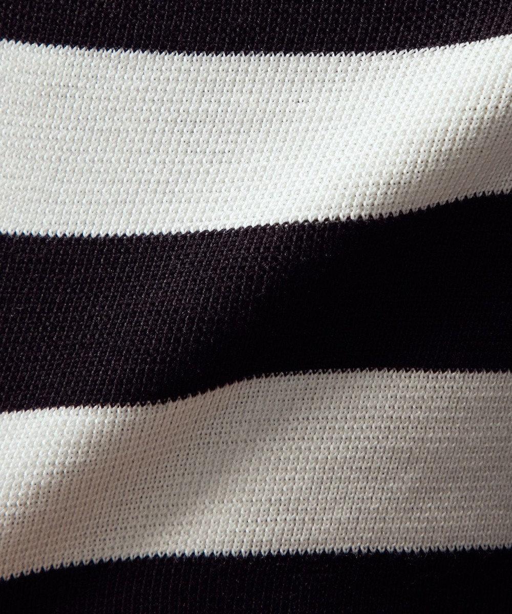 uncrave コットンシルク ニットタンクトップ ホワイト×ブラック