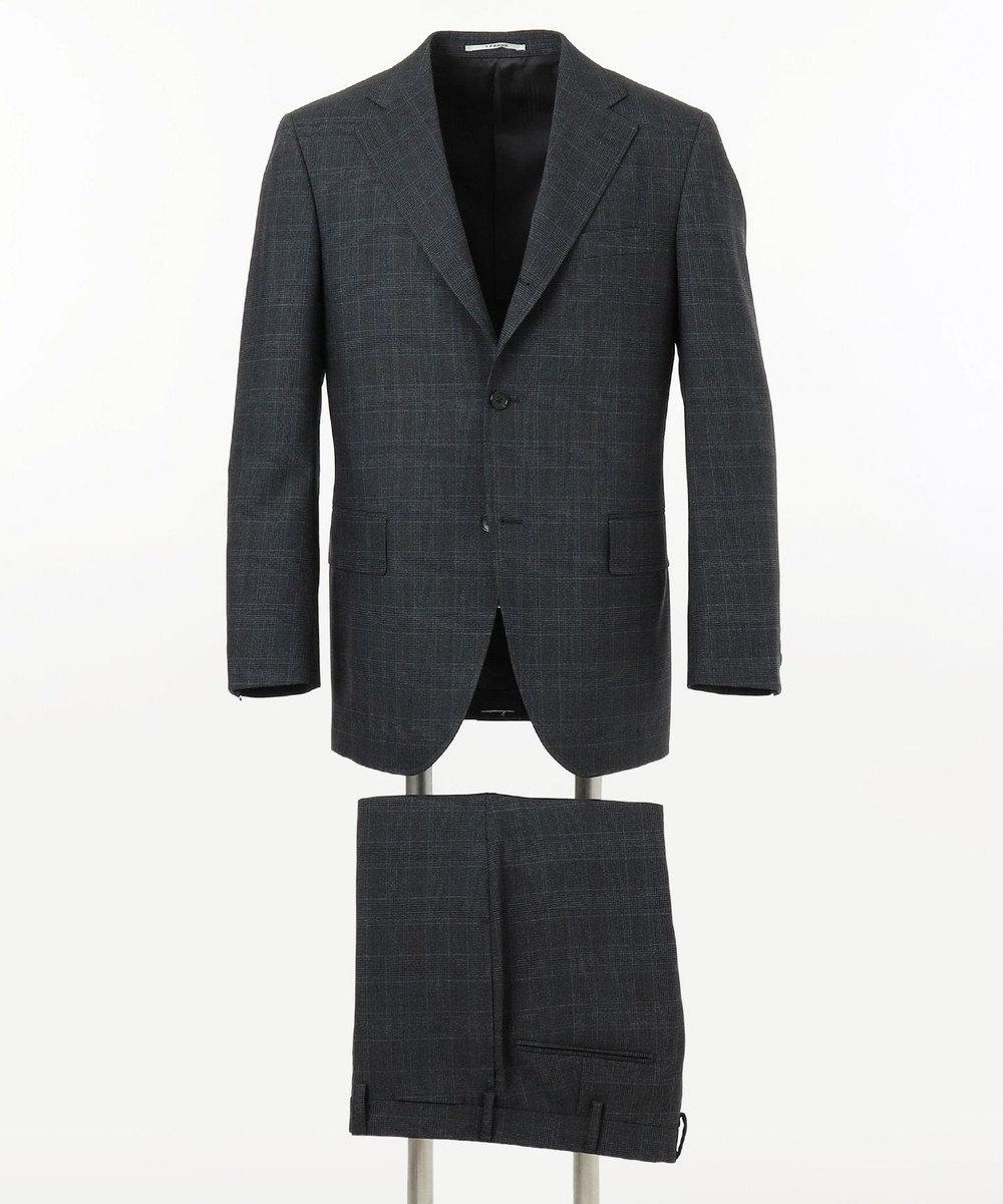J.PRESS MEN 【CUBA BEACH MASTERPIECE】シルクツイストチェック スーツ グレー系3