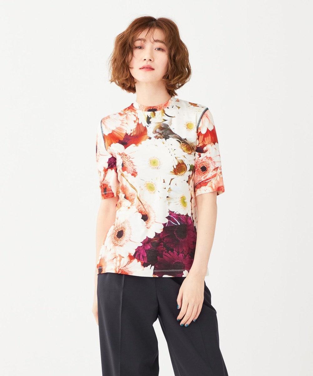 Paul Smith 【洗える】フラワーマーケット Tシャツ ホワイト系7